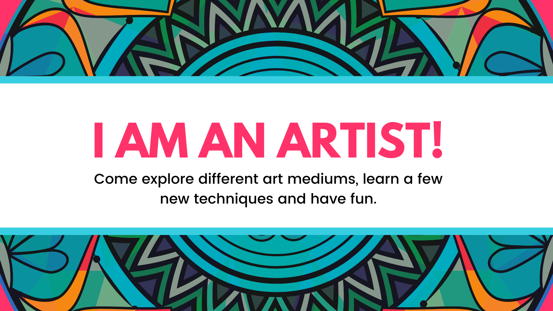 I am an artist workshop will be on February 1st