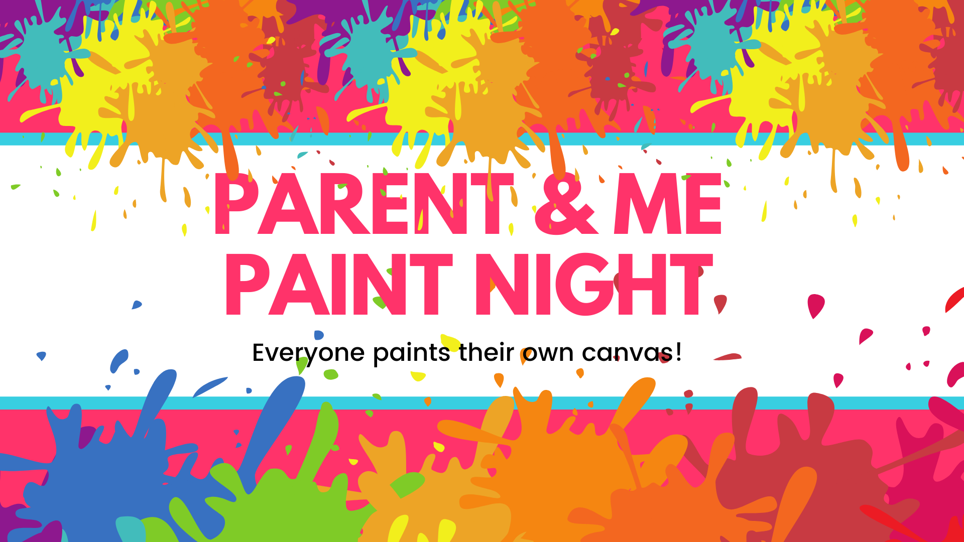 Parent and Me Paint Nights for January 2020