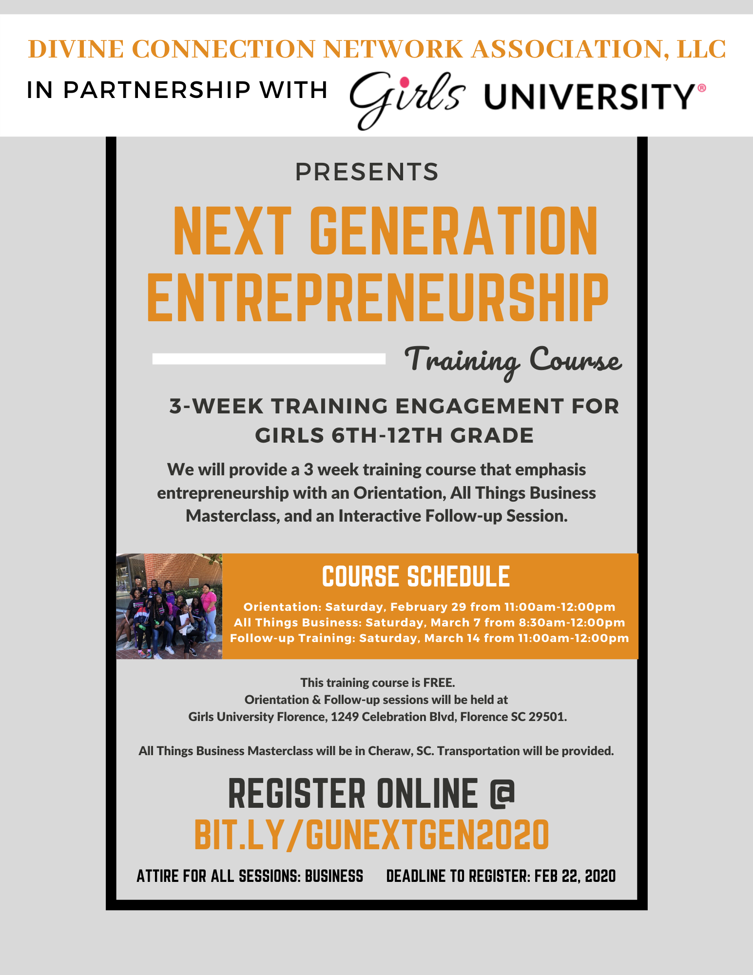 Next Generation Entrepreneurship Training Course