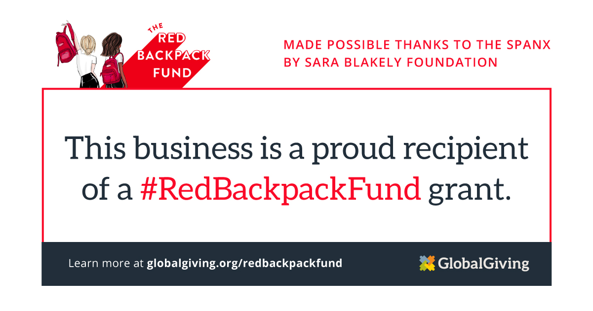 Girls University Selected by GlobalGiving As Red Backpack Fund Recipient, Receives $5,000 Grant From The Spanx by Sara Blakely Foundation To Combat COVID-19 Crisis